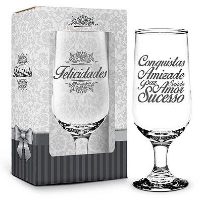 Taça Felicidades - 300 ml - Brasfoot