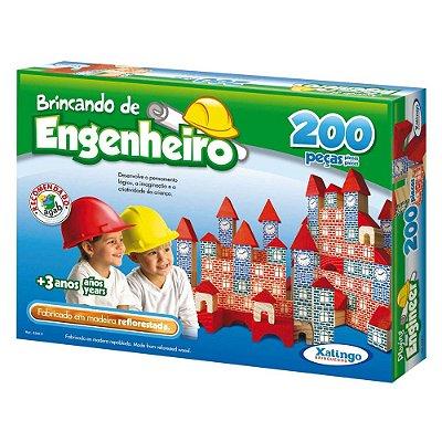 Brincando de Engenheiro - 200 peças - Xalingo