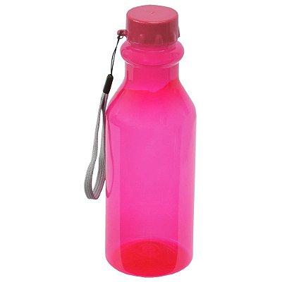 Garrafa Retrô - 500 ml - Pink - Plasútil