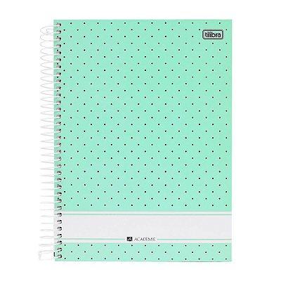 Caderno Académie Verde - 10 Matérias - Tilibra