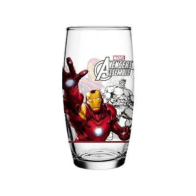 Copo Avengers Homem de Ferro - 430ml - Nadir