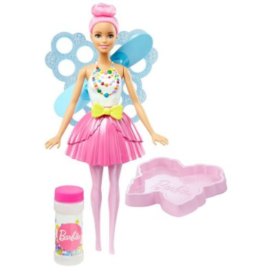 Barbie Dreamtopia - Fada Bolhas Mágicas - Mattel