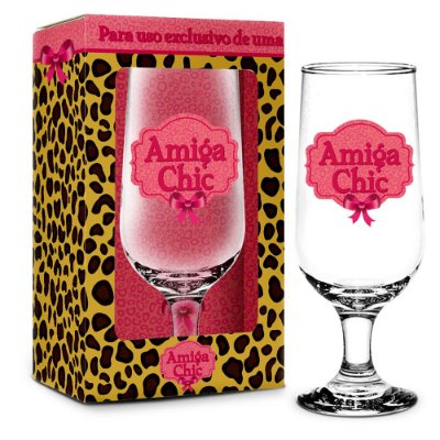 Taça Amiga Chic - 300 ml - Brasfoot