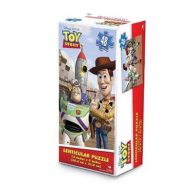 Quebra-Cabeça Lenticular Toy Story - 48 peças - Grow
