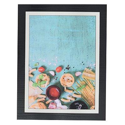 Quadro Decorativo Massas - 30 x 23 cm