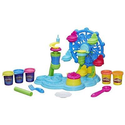 Conjunto Play-Doh Roda Gigante Cupcake - Hasbro