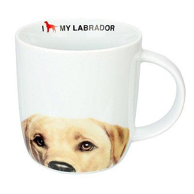 Caneca em Porcelana I Love My Labrador - Dynasty