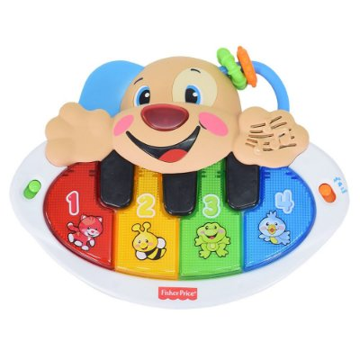 Piano Cachorrinho Aprender & Brincar - Fisher-Price