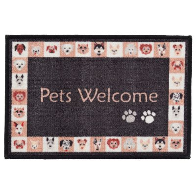 Tapete de Entrada Pets Welcome - Kacyumara