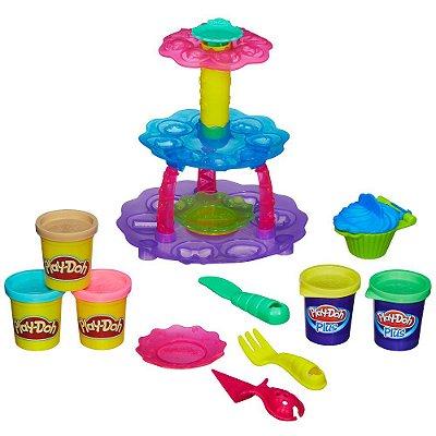 Conjunto Play-Doh Torre de Cupcake - Hasbro
