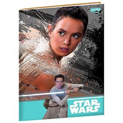 Caderno Brochura Star Wars - Rey - 96 folhas - Jandaia