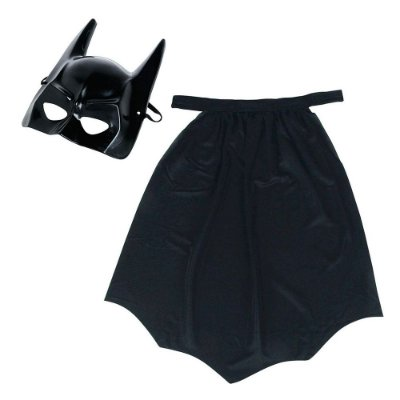 Kit Mascára + Capa Batman - Rosita