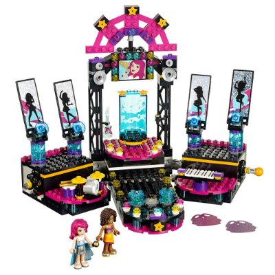 O Palco de Espetáculos da Pop Star - Lego Friends