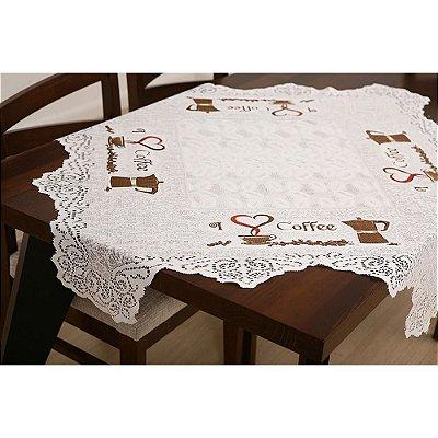 Toalha de Mesa Grãos de Café - Interlar