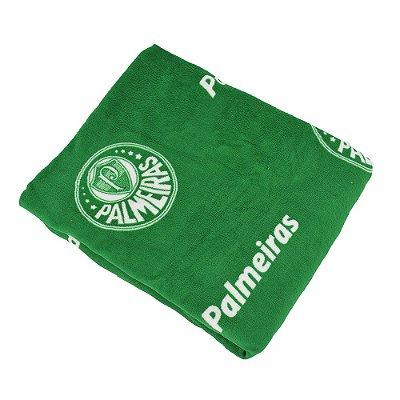 Manta Microfibra Solteiro Soft - Palmeiras - Jolitex