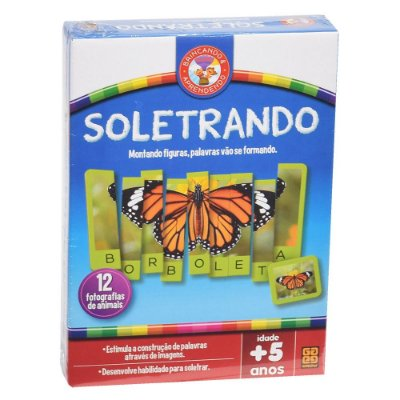 Jogo Soletrando - Grow