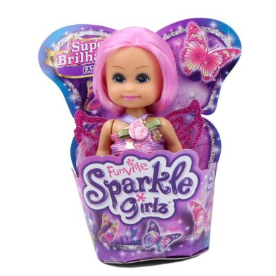 Sparkle Girlz - Mini Fada Rosa - DTC