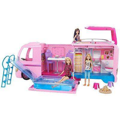 Barbie Trailer dos Sonhos Mobiliado - Mattel