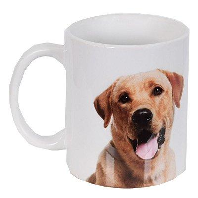 Caneca de Cerâmica - Eu amo meu Labrador - Vikos