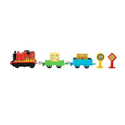 Thomas & Friends - Motorizado - James e as Abelhas - Fisher-Price