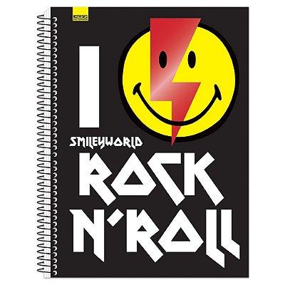 Caderno Smiley Rock n'Roll - 1 Matéria