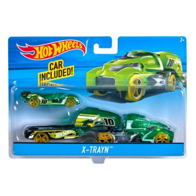 Hot Wheels Caminhão Transportador - X-Trayn - Mattel