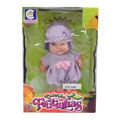 Bonecas Coleção Frutinhas - Uva - Cotiplás