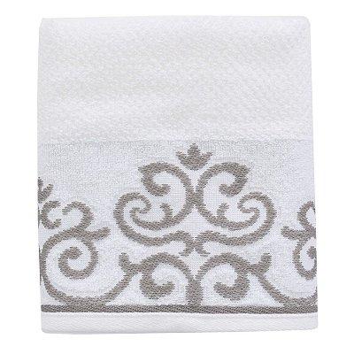Toalha de Rosto Allegra Veridian - Branco - Karsten