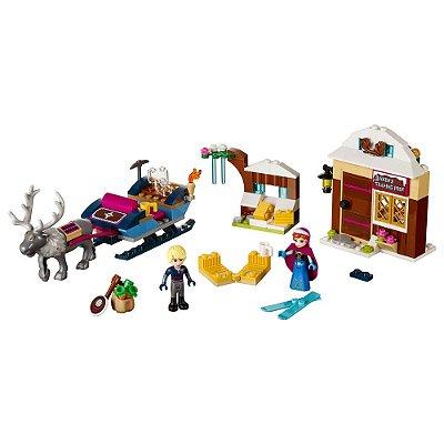 A Aventura de Trenó de Anna e Kristoff - Lego brand Disney Princess