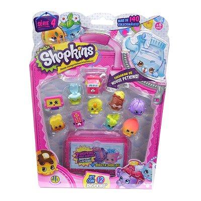 Shopkins Blister Kit com 12 Personagens - Série 4 - DTC