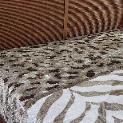 Cobertor Raschel Casal Home Design Gana - Corttex