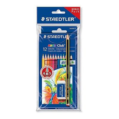 Lápis de Cor Noris Club Staedtler - 12 cores