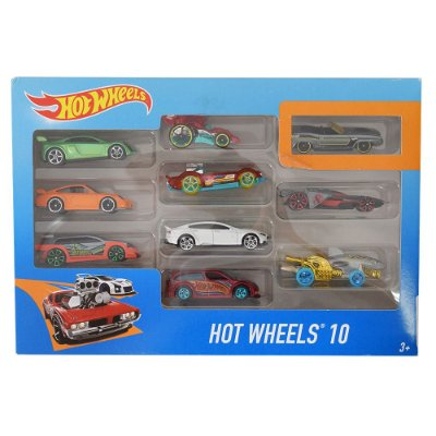 Hot Wheels Pacote 10 Carros - Plymouth - Mattel