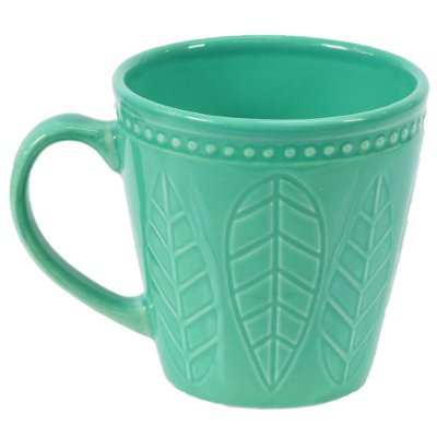 Caneca Corona Relieve 300ml Acqua - Yoi