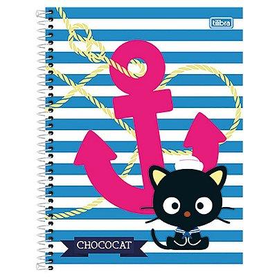 Caderno Chococat - Listrado - 10 matérias