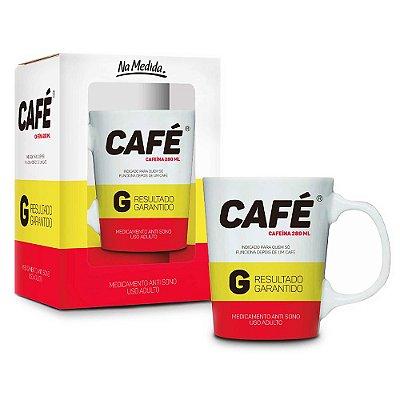 Caneca Premium Remédio Café - 280 ml - Brasfoot