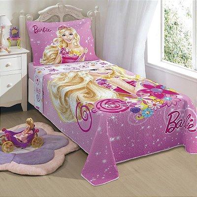 Colcha Matelassê Infantil - Barbie e o Portal Secreto - Lepper