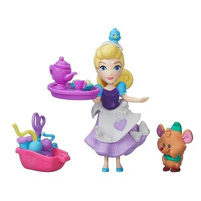 Boneca Cinderela - Mini Reino Princesas Disney