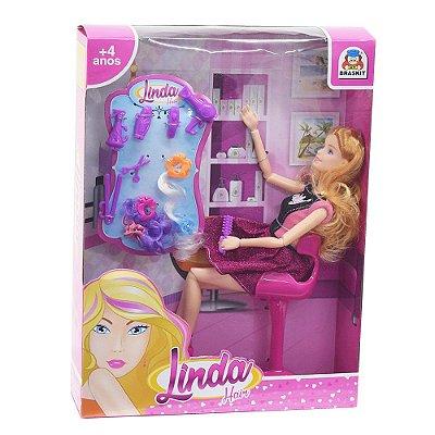 Boneca Linda Hair - Braskit