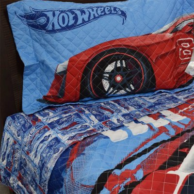 Colcha Matelassê Infantil - Hot Wheels - Lepper
