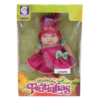Bonecas Coleção Frutinhas - Groselha - Cotiplás