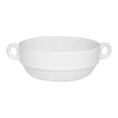Tigela Empilhavel Consommé em Porcelana com Asa - 400ml - Oxford