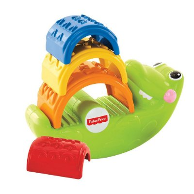 Empilha Jacaré - Fisher-Price