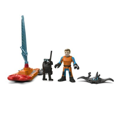 Imaginext Oceano - Agente de Resgate Windsurf - Fisher-Price