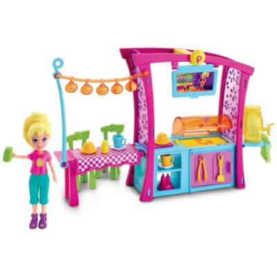 Polly Pocket - Churrasco Divertido da Polly - Mattel