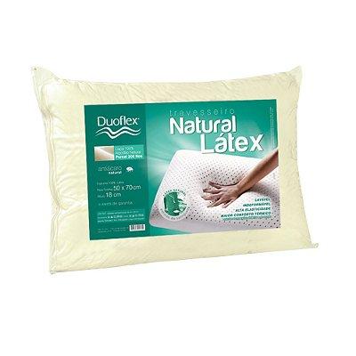 Travesseiro Natural Látex Alto - Duoflex