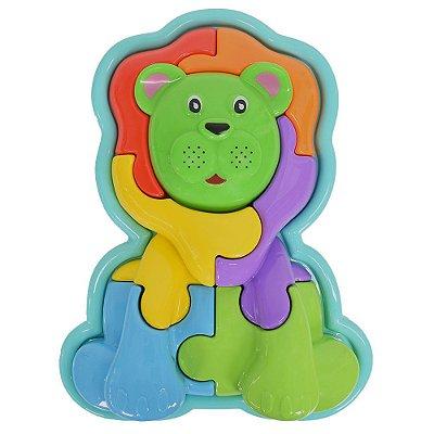 Animal Puzzle 3D Leãozinho - Calesita
