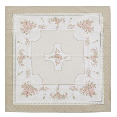 Toalha de Mesa 78 x 78 cm - Flores - Karsten