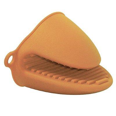 Luva Bico de Silicone - Laranja - Mimo Style