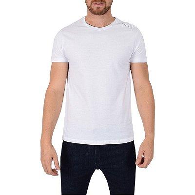 Camiseta Masculina Básica Lisa - Calvin Klein